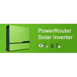 GRID INVERTER 3.7 kW with BATTERIES / BACK UP